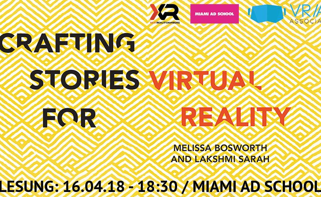 Book Reading: Crafting Stories for Virtual Reality