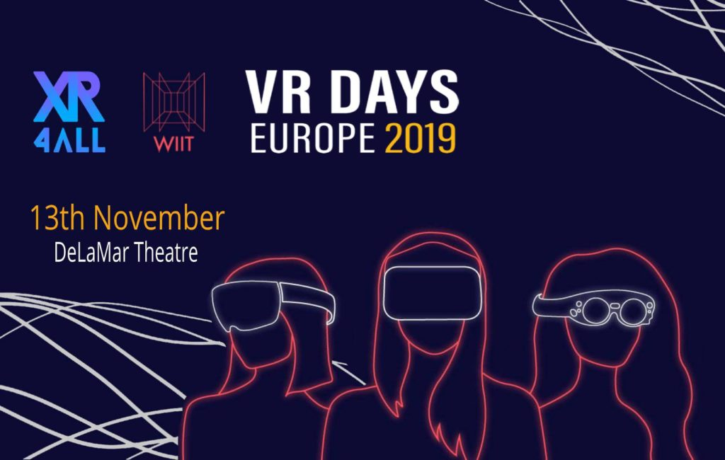 Xr4all meets WiiT at VR Days