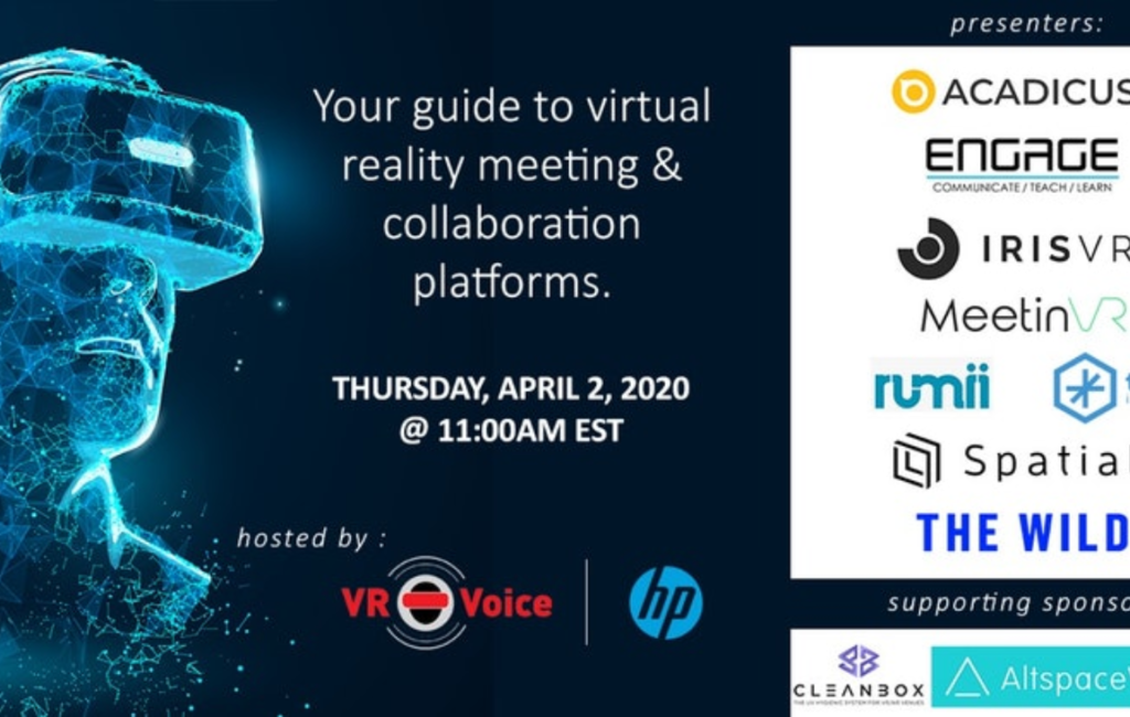 Your Guide to Virtual Reality Meeting and Collaboration Platforms