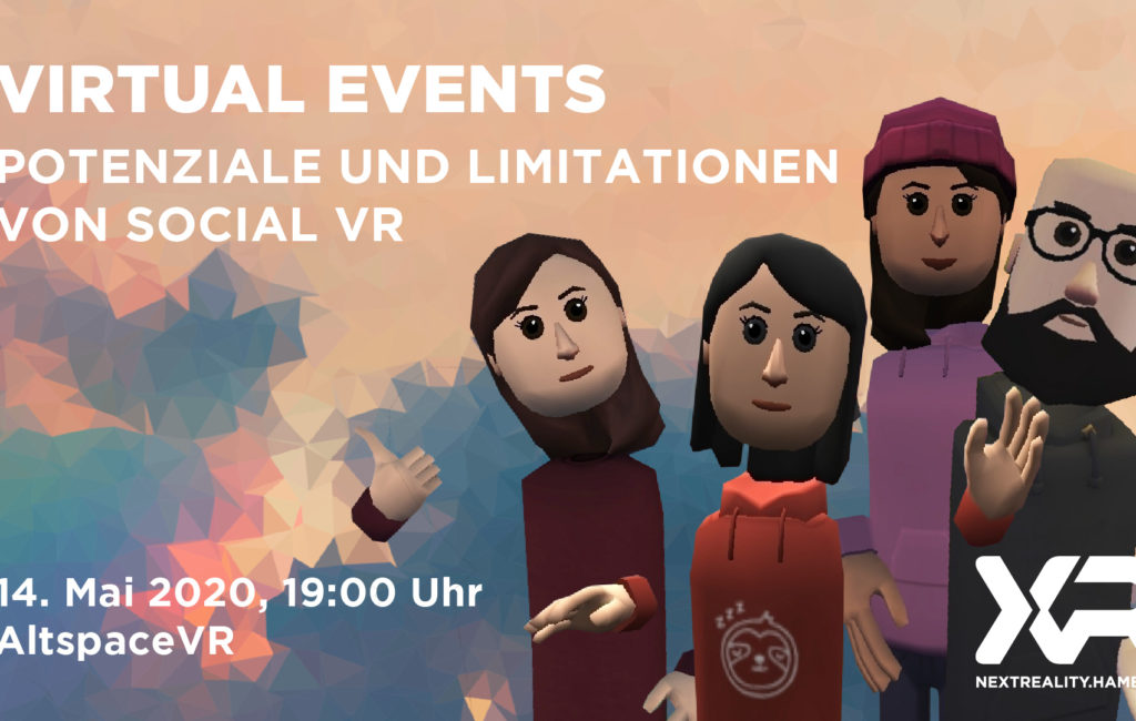 Virtual Events – Potenziale und Limitationen von SocialVR