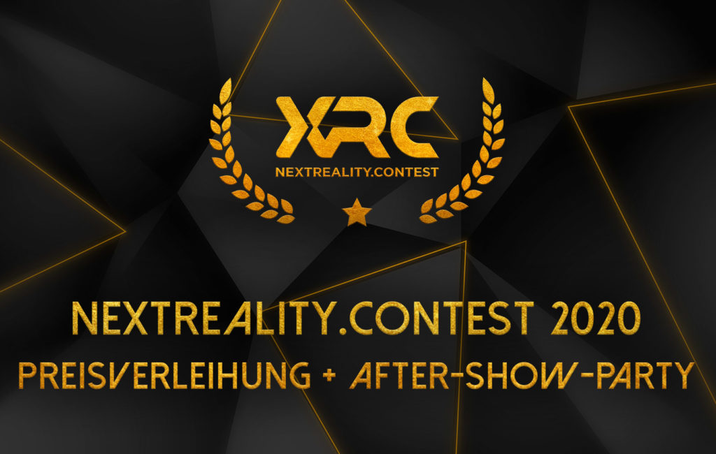 nextReality.Contest 2020: Preisverleihung und After-Show-Party