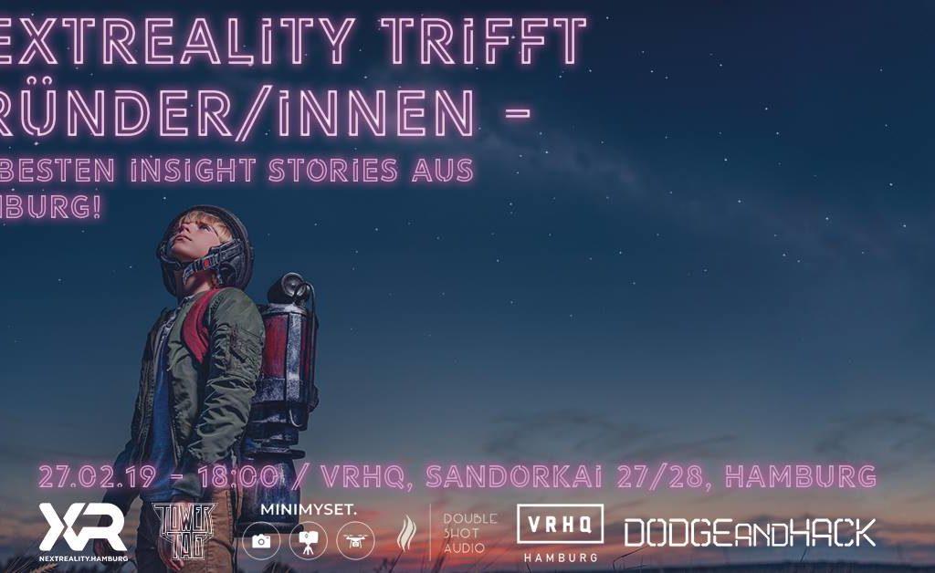 nextReality trifft Gründer – Die besten Inside Stories aus Hamburg!