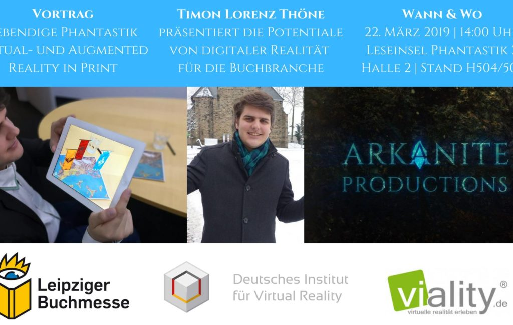 Vortrag: Lebendige Phantastik – VR & AR in Print
