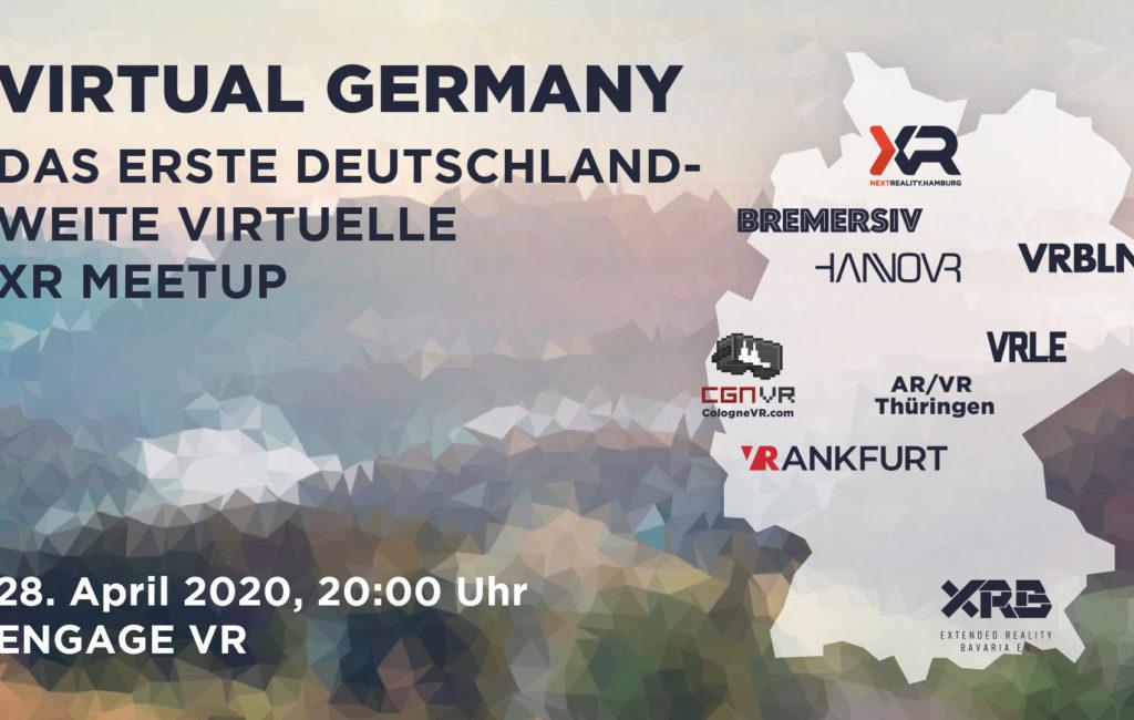 Virtual Germany – das erste deutschlandweite virtuelle VR & AR Meetup