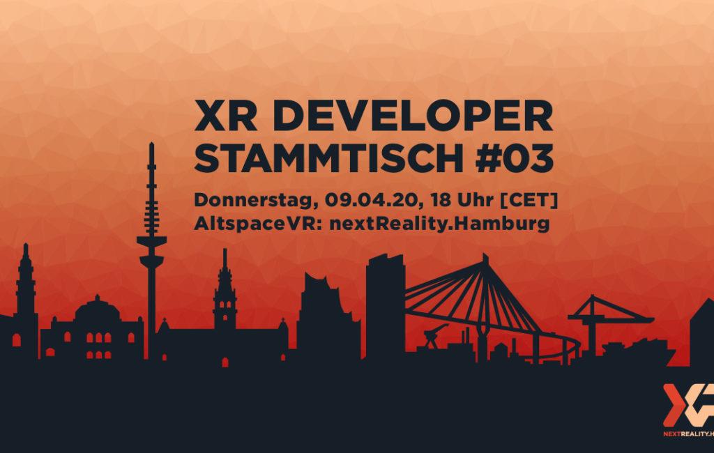 XR Developer Stammtisch #03