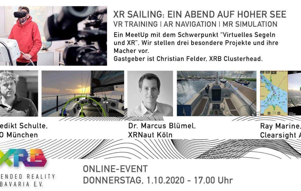XR Sailing: Ein Abend auf hoher See – VR Training