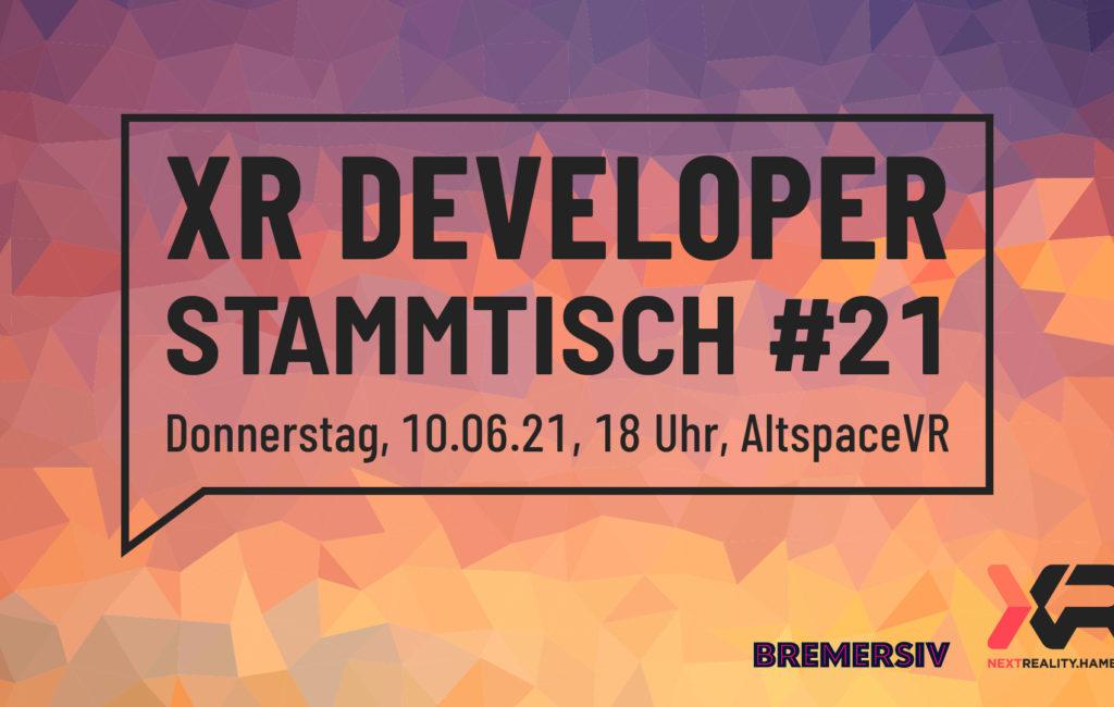 XR Developer Stammtisch #21