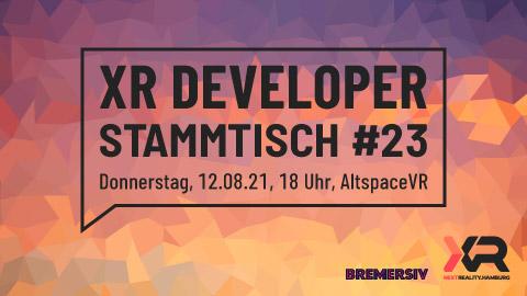 XR Developer Stammtisch #23