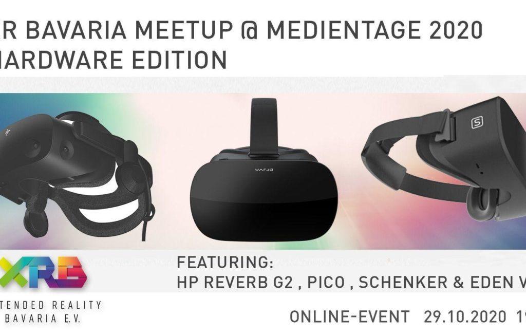 XR Bavaria Meetup @ Medientage München – Hardware Edition