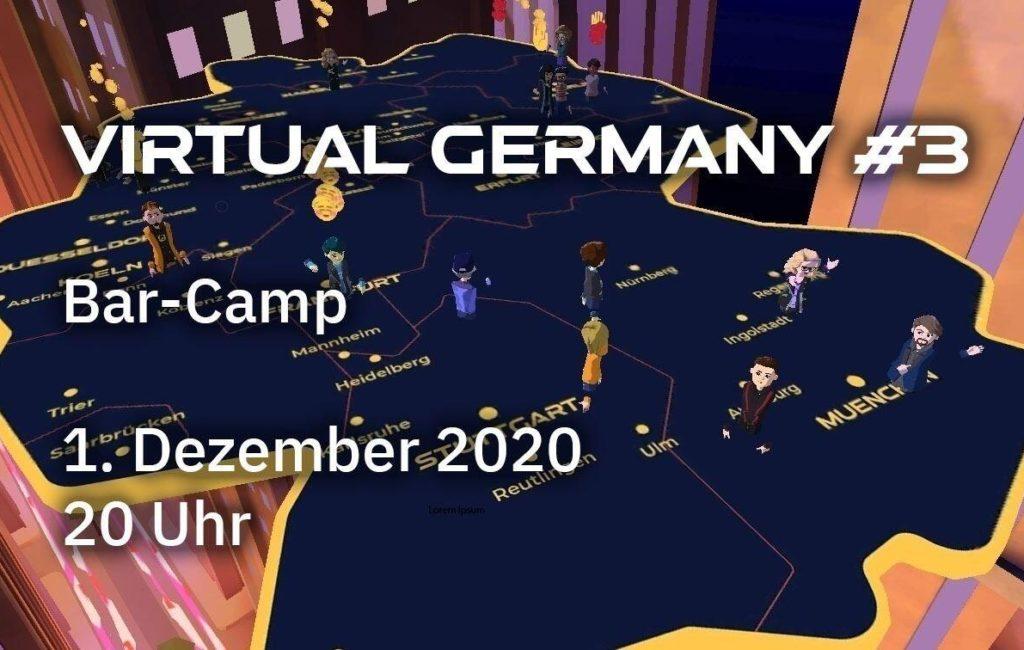 Virtual Germany #3 – Barcamp