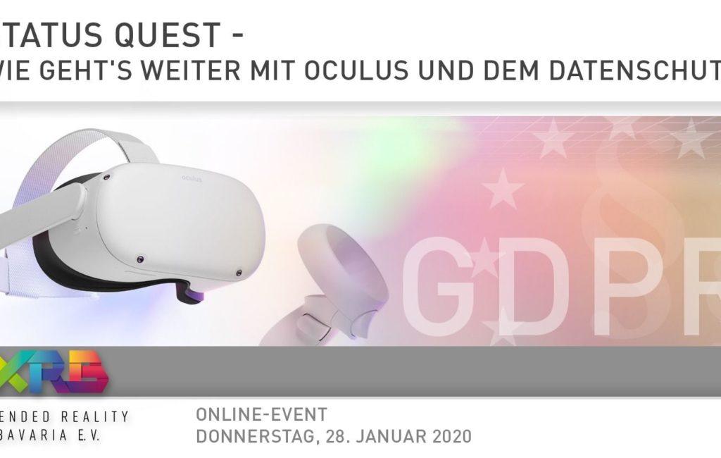 Status Quest – Wie geht's weiter mit Oculus und dem Datenschutz