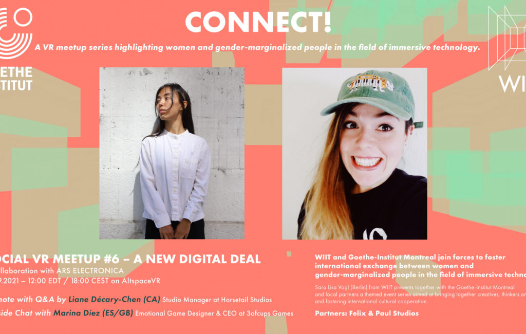 CONNECT! X ARS ELECRONICA   A NEW DIGITAL DEAL